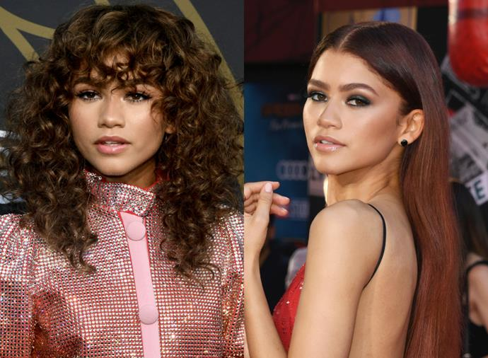 """**Zendaya**<br><br>  Like Washington, [Zendaya](https://www.elle.com.au/beauty/zendaya-before-after-21182