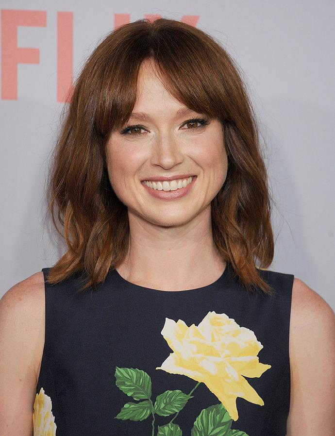 Ellie Kemper <br><br> Though she is often cast as the wide-eyed naive character, Kemper not only graduated from Princeton University in 2002 with a degree in English, she then went on to receive a graduate degree from Oxford University.