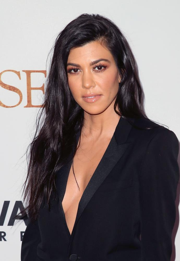 **Kourtney Kardashian** <br><br> The only Kardashian with a degree, Kourtney, the eldest sibling surprisingly graduated with a degree in theatre, of all things, back in 2002 before her family shot to stardom.