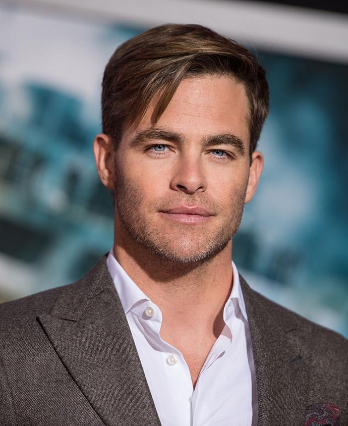 **Chris Pine** <br><br> Admitting that he never had much of an interest in acting growing up, Pine got his degree in English in 2002 before eventually getting involved in acting classes and pursuing the career.