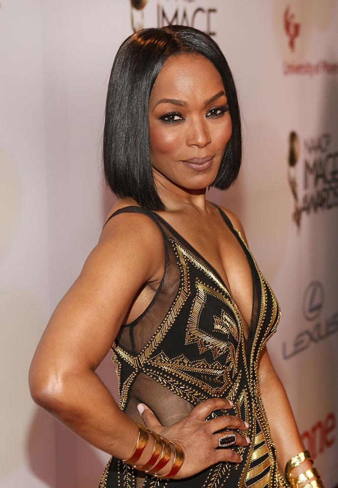 **Angela Bassett** <br><br> Not only did Bassett receive a bachelor's degree from Yale University in African-American studies, but the ageless actress also completed a master's in fine arts, making her one *very* interesting woman.