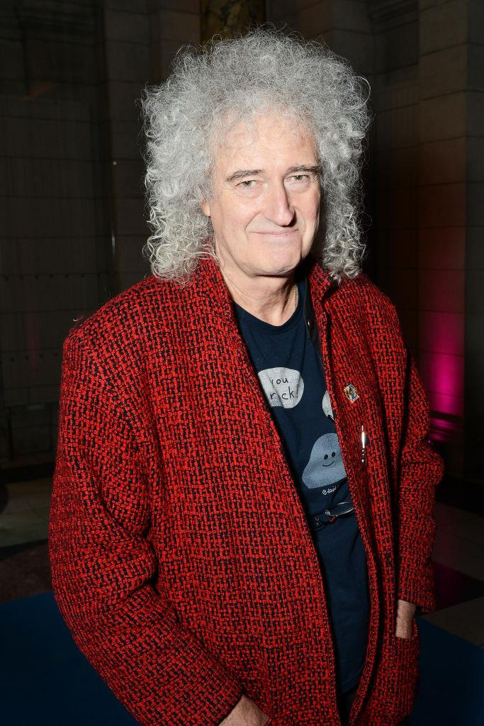 **Brian May** <br><br> *Queen* lead guitarist, Brian May, not only graduated with a degree in physics from Imperial College in 1968, but he was then awarded a Ph.D. in astrophysics in 2007.