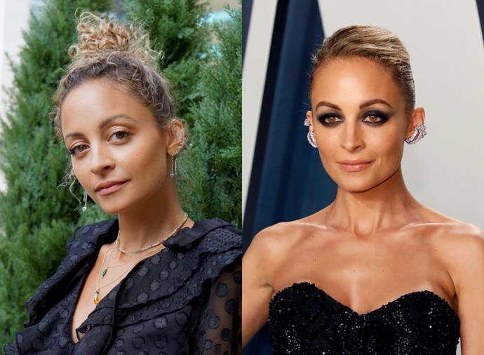 **Nicole Richie**<br><br>  Nicole Richie's elegantly undone bun (and its slick counterpart) are both winners in our book.