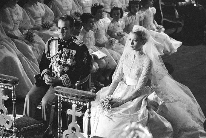 "**7. Prince Rainier III of Monaco and Grace Kelly's 1956 Wedding**<br><br>  **Estimated cost:** Unknown, but assumed to be tens of millions<br><br>  While the exact cost of Grace Kelly and Prince Rainier III's nuptials is unknown, many have estimated that the glamorous wedding would have incurred tens of millions. One of the most memorable weddings of its era, their 1956 ceremony included a 600-person guest list, a six-tiered wedding cake depicting Monaco's pink palace and history fashioned out of sugar, and thousands of white lilacs and lilies of the valley. The *To Catch A Thief* actress' [extravagant wedding gown](https://www.harpersbazaar.com.au/fashion/most-extravagant-wedding-dresses-13537|target=""_blank""), which was composed of 100 yards of silk and 25 yards of taffeta, reportedly costed around $8,000. When adjusting for inflation, that amount would be well over AUD $150,000 today. Moreover, her father, millionaire Jack Kelly, [reportedly](https://www.chicagotribune.com/opinion/ct-perspec-0417-things-20110417-story.html