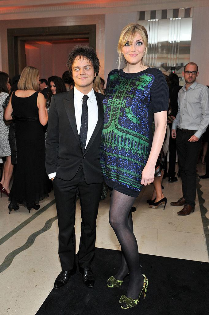 **Sophie Dahl and Jamie Cullum**<br><br>  Standing at a statuesque 182 cm, the British former model and author towers over her jazz singer husband of a decade.