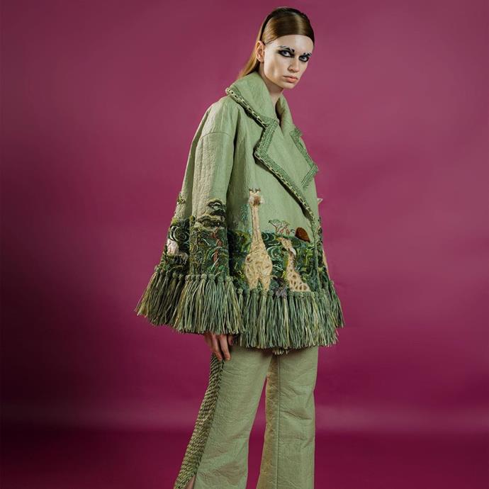 "**Guo Pei's ""Savannah"" Collection Showcasing The Wildlife Of North Africa**<br><br>"
