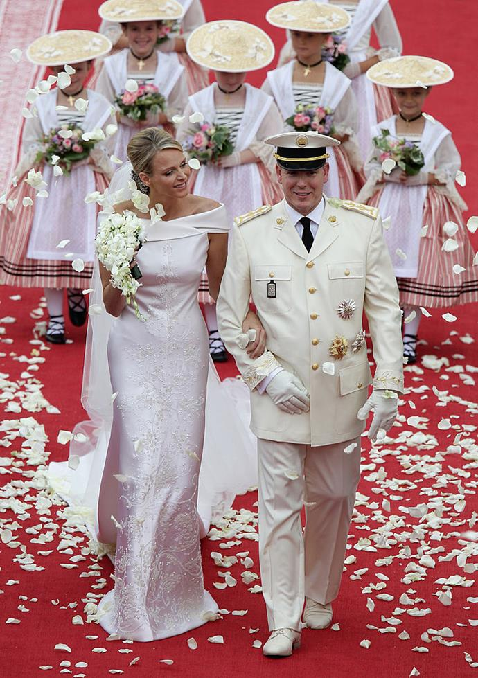 "**2. Prince Albert II Of Monaco and Charlene Wittstock's 2011 Wedding**<br><br>  **Estimated cost:** AUD $93 to 100 million (around [USD $65](https://www.cbsnews.com/news/princess-charlene-prince-albert-ii-exchange-vows-in-monaco/|target=""_blank""