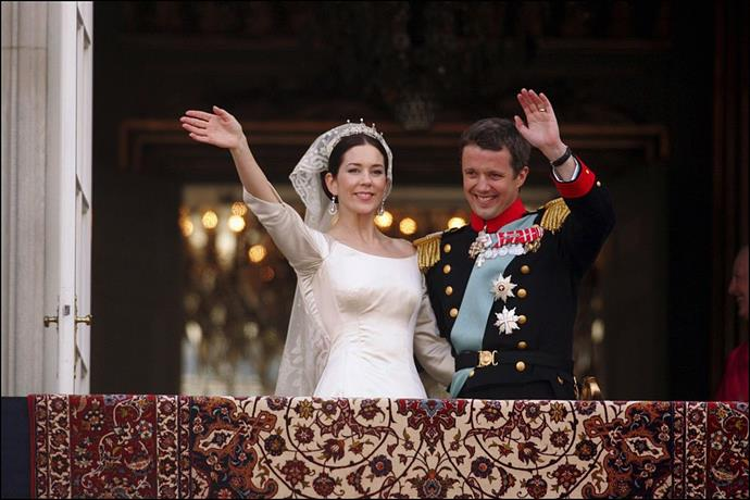 "**6. Crown Prince Frederik of Denmark and Mary Donaldson's 2004 Wedding**<br><br>  **Estimated cost:** Approx. AUD $34 million (154.4 million kroner)<br><br>  Per [*ABC*](https://www.abc.net.au/news/2004-05-13/marys-royal-wedding-to-cost-danes-34m/1975130|target=""_blank""