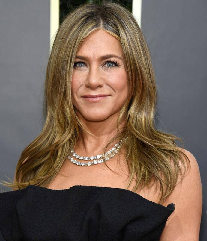 **Jennifer Aniston**<br></br> *Image via: Getty Images*
