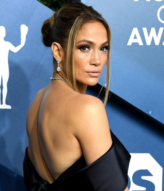 **Jennifer Lopez**<br></br> *Image via: Getty Images*