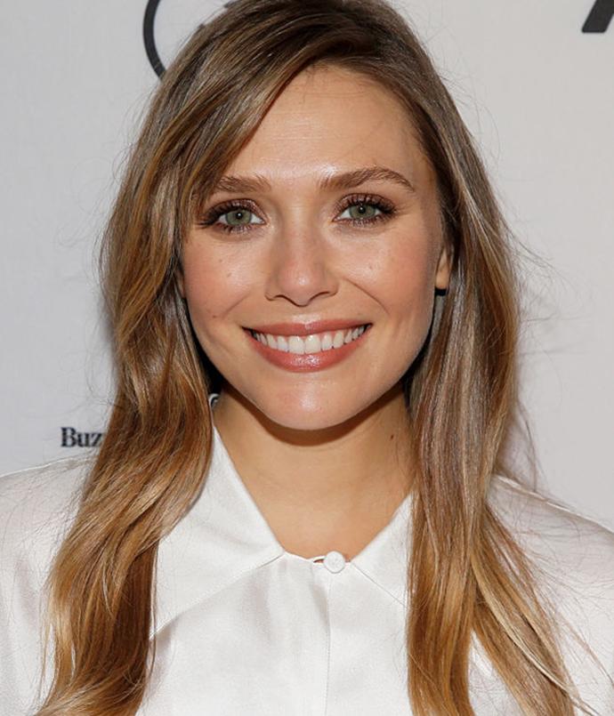 **Elizabeth Olsen**<br></br> *Image via: Getty Images*