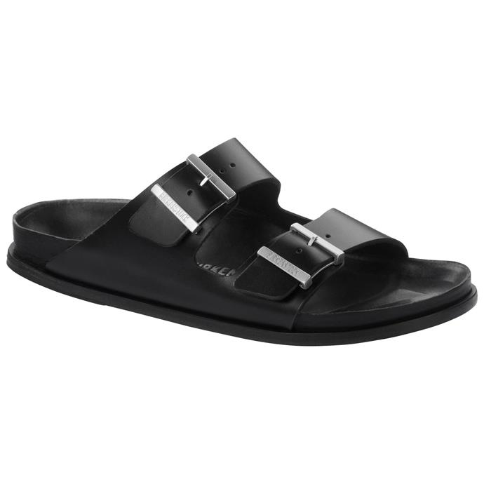 """Limited 'Arizona' Edition sandals by Birkenstock, approx. $429 at [Birkenstock](https://fave.co/32sb01a