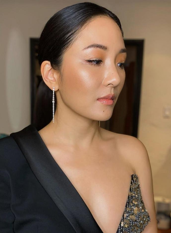 **Constance Wu**<br></br> *Image via: Instagram/@mollygreenwald*