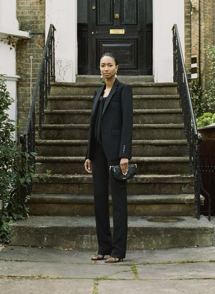 COURTESY OF BURBERRY. LOOK 20 – SABINE, ART DIRECTION – LADBROKE GROVE