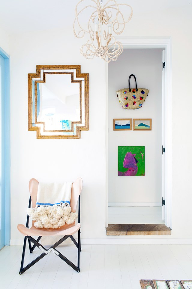 """Find out how to use a little [smoke and mirror magic](http://www.homestolove.com.au/reflect-your-homes-best-self-by-decorating-with-mirrors-1483