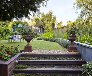 Sustainable back garden