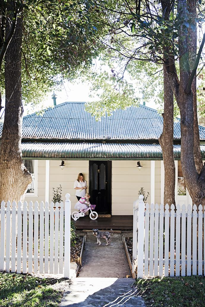 The cottage was built in 1886 by the son of a convict. It had been through many incarnations as a shop, doctor's rooms and a grocery store.