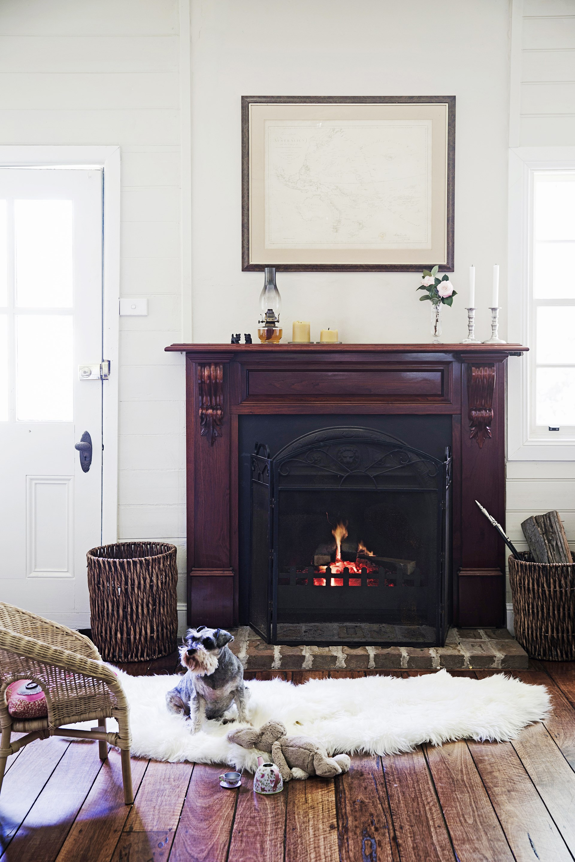 """Restoring this rustic cottage in Cobbity, NSW, was a passion-project for the owners, who took a slow and steady approach to renovating to ensure every nook and cranny received proper care and consideration. Take a tour of this [charming heritage-listed home](http://www.homestolove.com.au/gallery-jodie-and-simons-rustic-cottage-renovation-1520