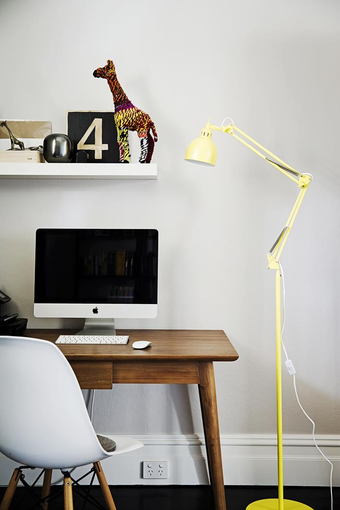 Rooms like the kitchen and study require specific task lighting for various activates. Photo: James Henry