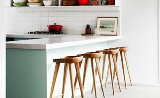 Timber kitchen bar stools