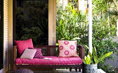 Outdoor colour schemes that pop