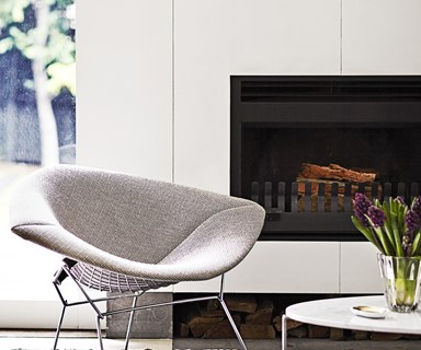 Fashionable fireplaces for winter