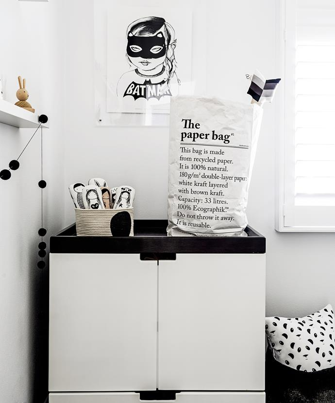 """We chose to frame all our nursery prints in clear perspex frames so that it was not distracting to the actual art and so the walls looked less cluttered,"" [Renata](http://www.curatedby.co/