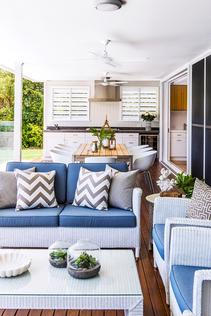 """""""My brief was to create a space perfect for whiling away a lazy Sunday afternoon,"""" says interior designer Leigh Boswell from [Highgate House](http://www.highgatehouse.com.au/