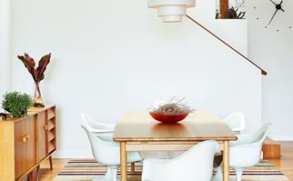 Vintage Bondi dining room