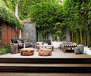 Outdoor rooms that get the balance right