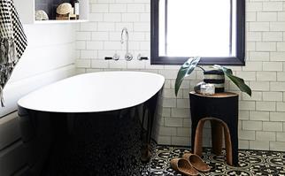 Eco-bathroom renovation