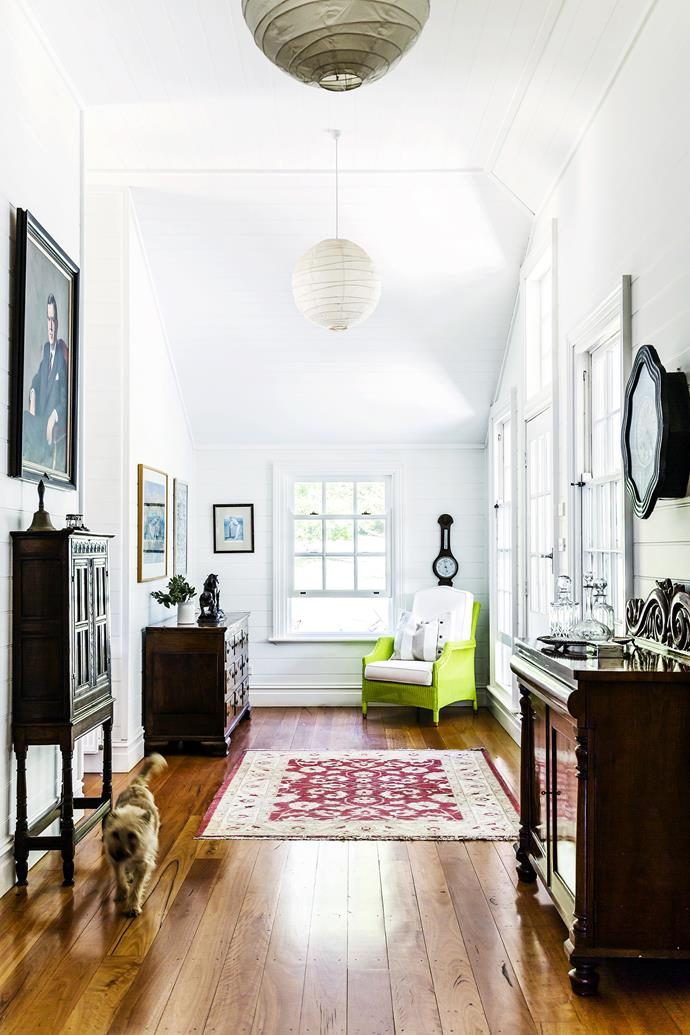 The sense of history is an important theme in the house. Photo: Maree Homer | Stylist: Ashley Pratt