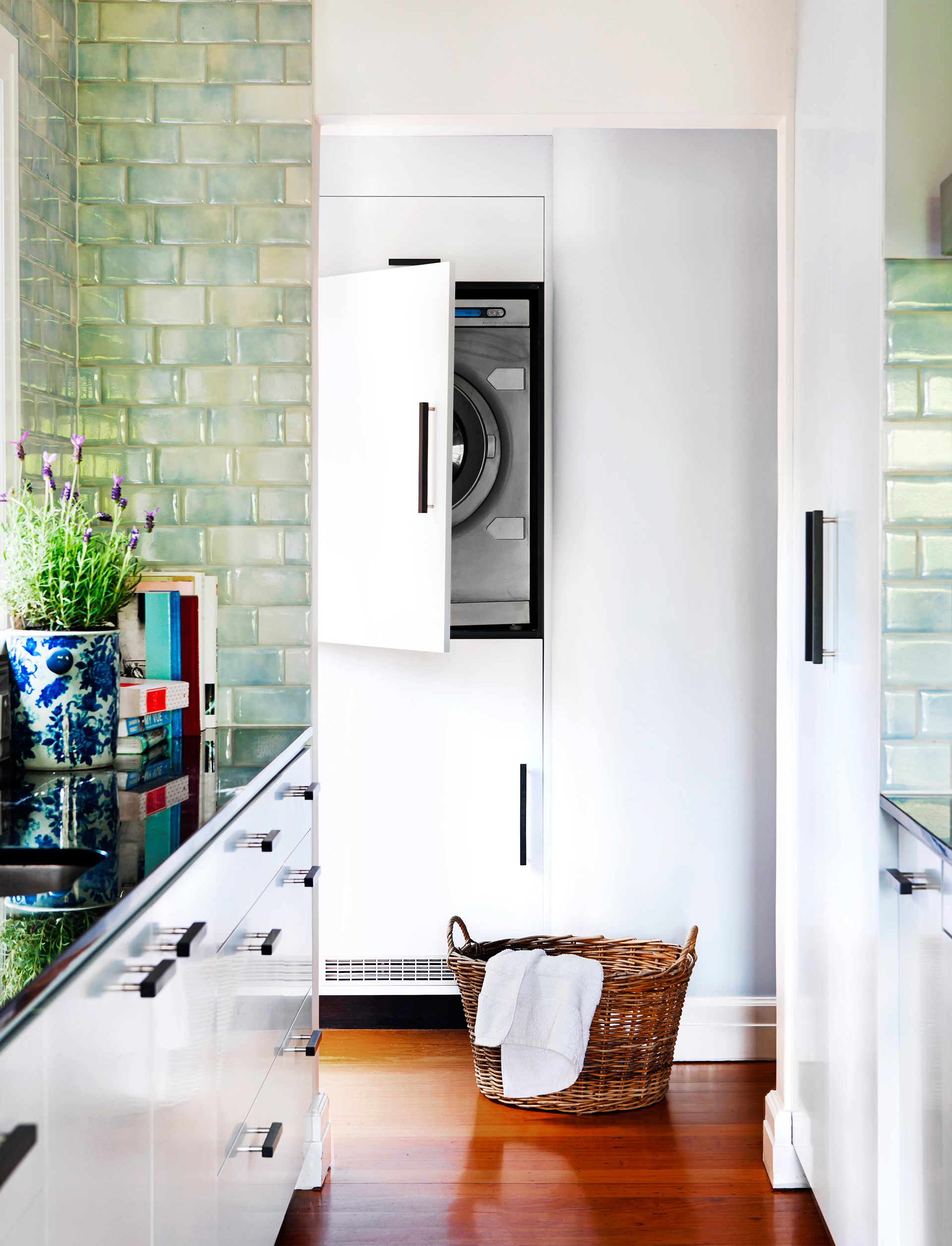 """If you are buying a new dryer, why not freshen up your laundry too. Check out our gallery of [inspiring laundries](http://www.homestolove.com.au/5-laundries-that-deserve-to-be-in-the-spotlight-1700