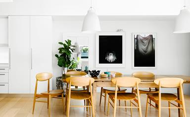 Scandi-style terrace house with space to spare
