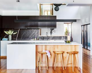 Weatherboard kitchen renovation