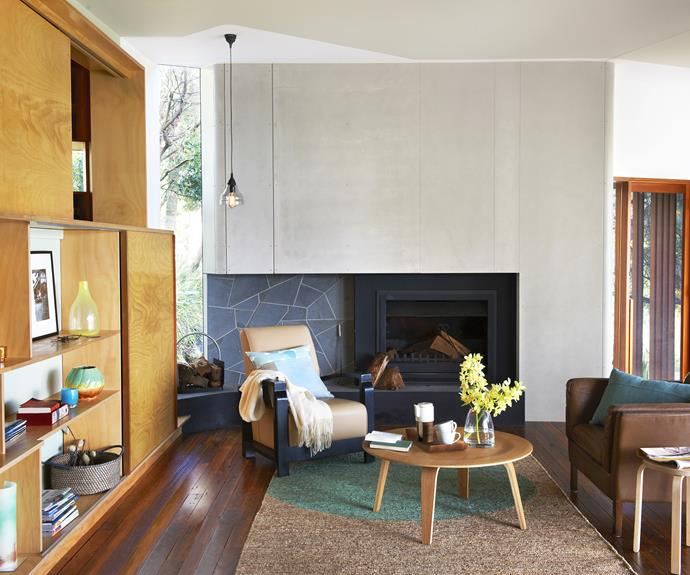 1960's style living room renovation