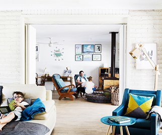 Upcycle living room