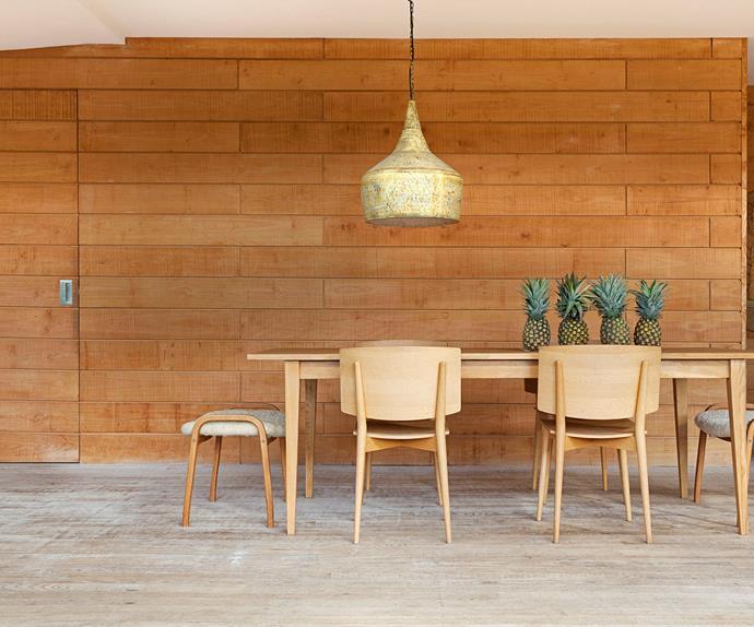 Scandinavian styled dining room