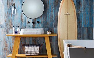 Stylish bathroom renovation