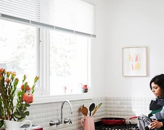 Kitchen Venetian blinds