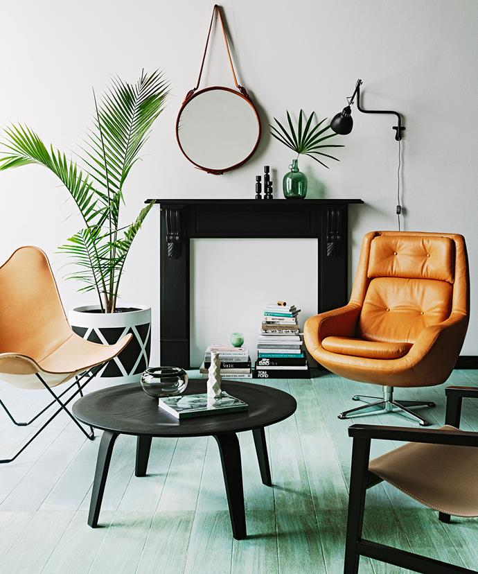 This room has no sofa, but looks completely finished as it is. Photo: Felix Forest   Styling: Tahnee Carroll
