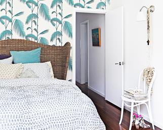 Decorative bedroom renovation
