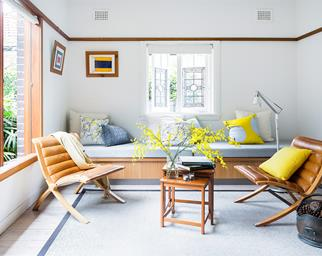 Sustainable formal living room