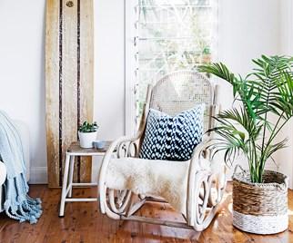 Coastal style sitting room
