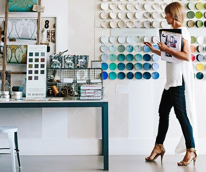 Interior designer Jacinta Preston