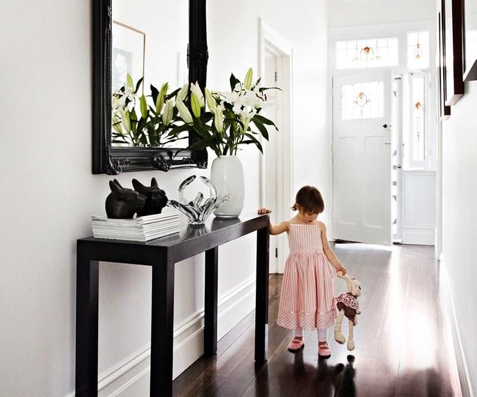 Welcoming hallway entrance