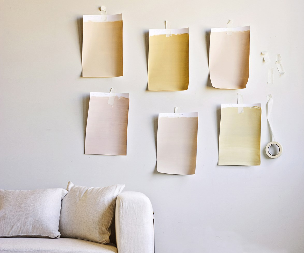 "Tape the colour swatches against the walls of the room. In the light of the space, you should be able to quickly eliminate those [colours that don't work](http://www.homestolove.com.au/5-expert-tips-for-choosing-paint-colours-1816|target=""_blank"")."