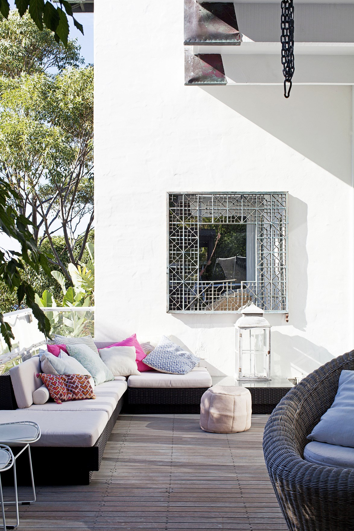 """This [Moroccan-inspired beach house](https://www.homestolove.com.au/gallery-heidis-moroccan-inspired-beach-house-1830