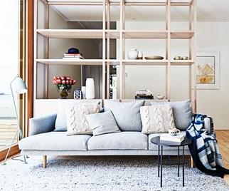Edwardian living room renovation