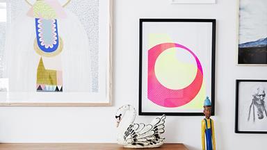 Carmen and Jeremy's art-filled abode